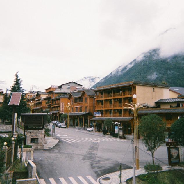 Beautiful quiet town