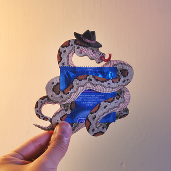 Durex Condom Reimagined as Characters