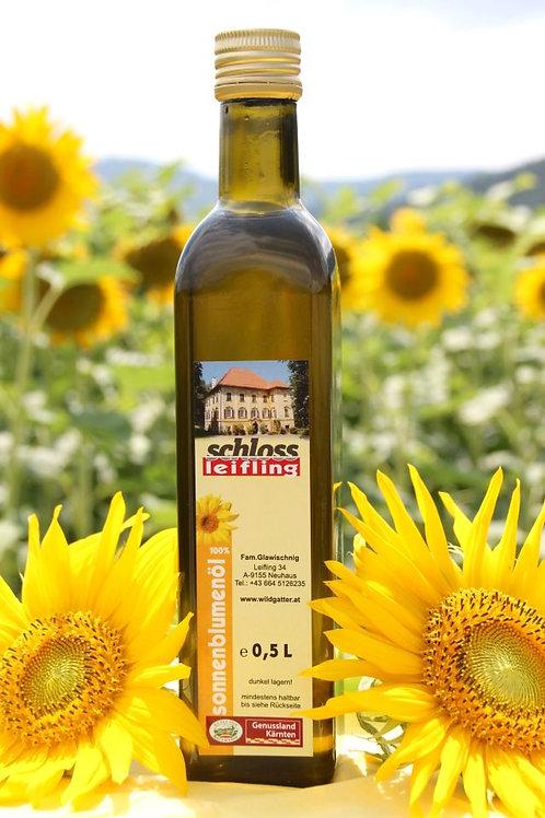 Sonnenblumenöl 0,5 Liter