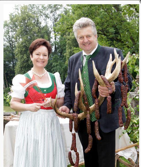 Genuss Krone 2019 für unsere Hirschwürste