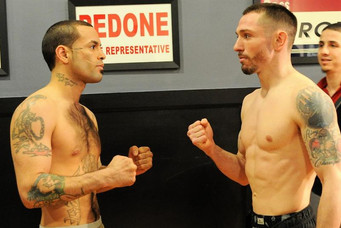 OFFICIAL WEIGHTS FROM WORCESTER, MA FOR SAT'S PRO BOXING CARD.
