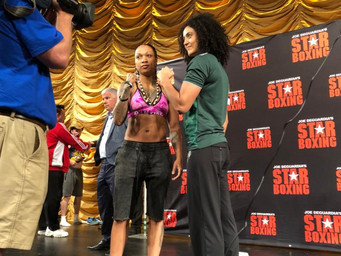 """OFFICIAL WEIGH-IN RESULTS FOR TOMORROW NIGHTS """"SLUGFEST AT THE SUN"""" AT MOHEGAN SUN"""