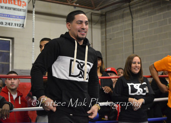 Danny Garcia Visits Hartford Boxing Center