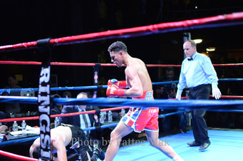 Exciting Nite of Boxing in Worcester, Mass - Results Below: