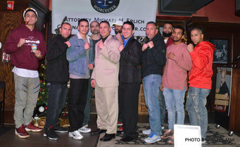 Press Conf. for New England's Future Pro Boxing Card to be held in Worc on Thursday, 1-19-2017.