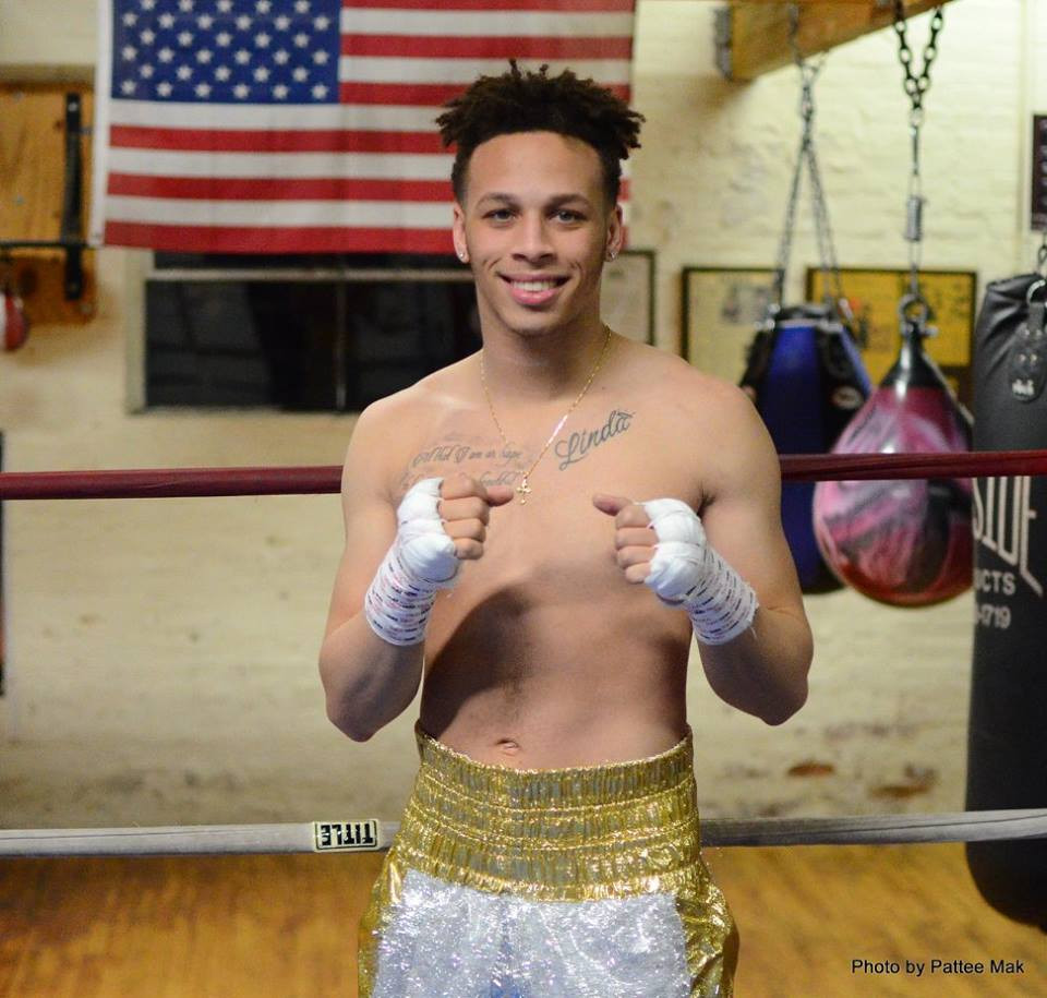 Boxer Mykey Williams