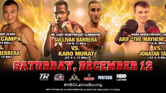 Top Welterweights Collide - Pedro Campa vs. Aaron Herrera & Sullivan Barrera to Face Karo Murat