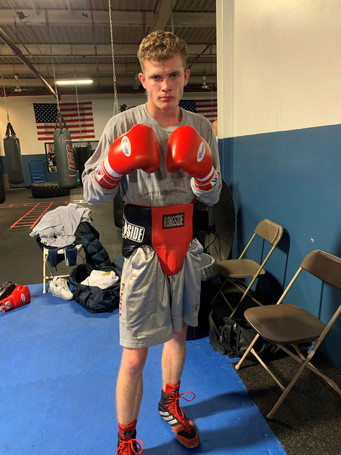 Another Local Fighter Turning Pro from Weymouth, Massachusetts - Francis Hogan.