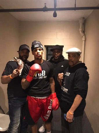 """Vinny Scolpino of VMS Management, Inc. Inks Another New England Fighter, Welterweight Derrick """"Bad B"""