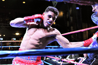 """Unbeaten Jamaine """"The Technician"""" Ortiz A visionary in trunks and gloves People's champ of Worcester"""