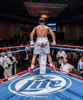 CES MEDIA ALERT - Newly-turned pro Ortiz hoping to 'break records' as he tackles the best in