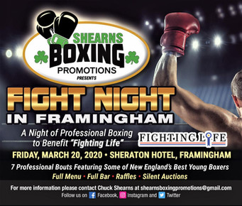 Shearns Boxing Promotions to promote 1st pro boxing show ever in Framingham, Mass.