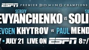 Unbeaten Contender Sergiy Derevyanchenko Meets Former World Champion Sam Soliman in Main Event of Pr