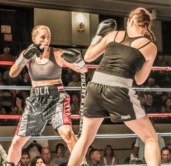 """Aleksandra Lopes fighting on """"Fight Night at the Bay"""" for one more World title shot opport"""