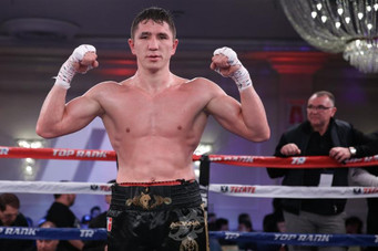 Main Events Inks Deal for Super Welterweight Prospect Madiyar Ashkeyev
