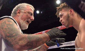 Boxing's odd couple driving to glory Undefeated Mykquan Williams &   Head trainer Paul Cicho
