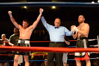 DeLuca and Lopes Goes the Distance & Wins by UD; Vendetti the New England Jr Middleweight Champ