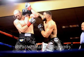 New IBF Int'l Heavyweight Champ Alexis Santos KO's Daniel Martz up in Salem, New Hampshire