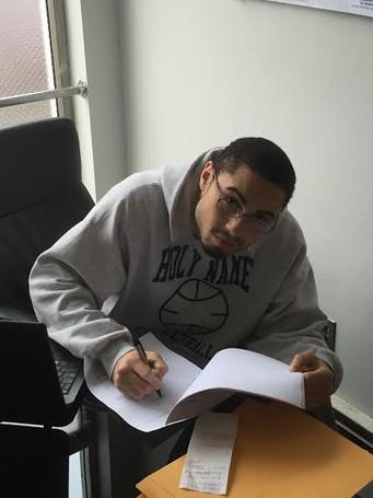 King's Promotions signs Jr. Middleweight Erik Spring