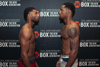 OFFICIAL WEIGHTS FOR SHOBOX: THE NEW GENERATION 15-YEAR ANNIVERSARY TELECAST TOMORROW LIVE ON SHOWTI