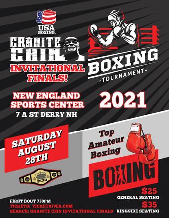 "Championship final of Inaugural ""Granite Chin Invitational"" Takes center stage"