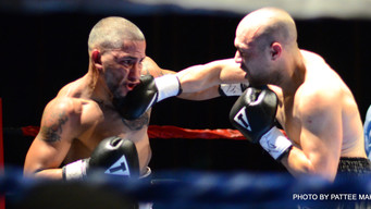 Worc, Mass is Back on the Map with some TKO's and Towel Tossin' in Last Nite's Pro Boxin