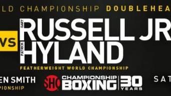 "Patrick ""The Punisher"" Hyland  Fighting For Irish Boxing History  Russell-Hyland, Pedraza-"