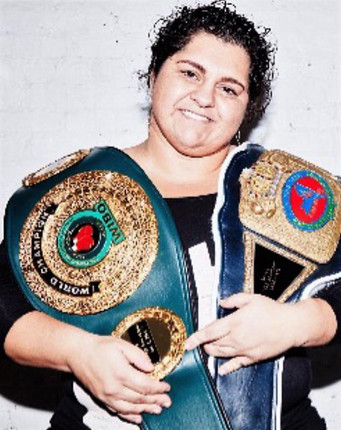 "Heavyweight Sonya Lamonakis Takes on Laura Ramsey for vacant UBF World Championship. ""New Engla"