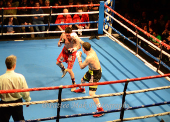Danny O'Connor Goes the Distance & Retains his World Boxing Council (WBC) International Silv