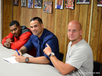 "VMS Management, Inc. Signs Springfield's Massachusetts Ray ""Bazooka"" Graceski to a Man"