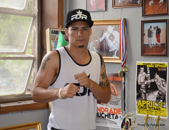 "Jose ""Rated R"" Rivera makes his Pro Debut against known ""Jabbin"" Joe Wilson at M"