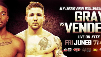 FITE TV to stream.  New England Jr. Middleweight Championship.  Live on PPV, June 9, from Rhode Isla