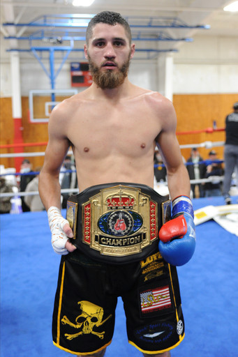 """New England welterweight champion Mike """"Bad Man"""" O'Han, Jr.defends title vs. Tyrone Luckey"""