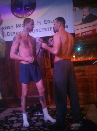 "Weigh In Results for tomorrow's night's pro boxing card for ""New England's Future"", pr"