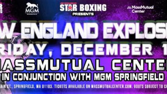 """SPRINGFIELD FAN FAVORITES READY TO SHINE FRIDAY (12/13) AT""""NEW ENGLAND EXPLOSION"""""""
