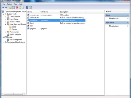 Installing Business Process Manager Advanced V8 on Windows 64bit
