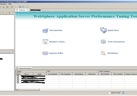 WebSphere Application Server Performance Tuning Toolkit