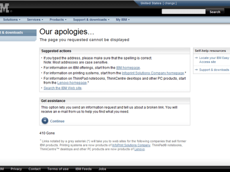 IBM Fix Central Lacking Meaningful Descriptions/Abstracts for Fixes