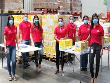Pozuelo y Nacional de Chocolates donan 20.000 kits de alimentos a comunidades vulnerables