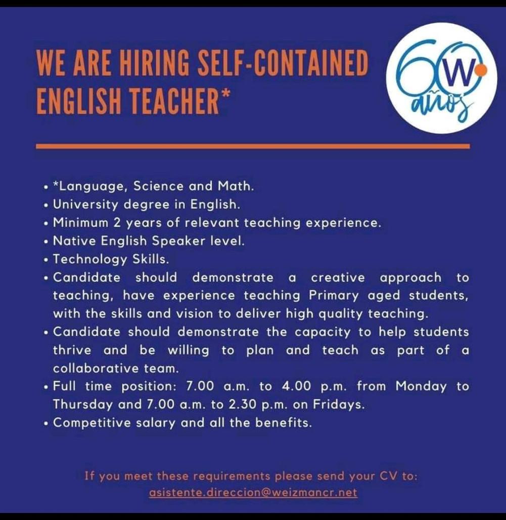 Profesor de inglés