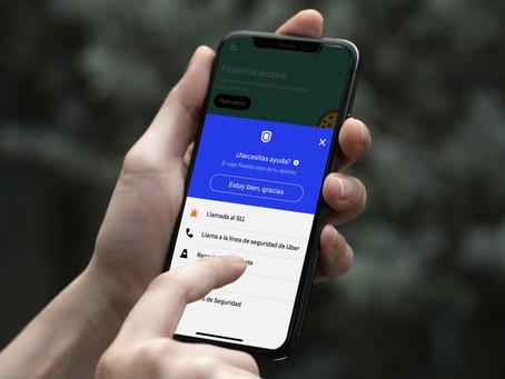 Nueva medida de seguridad de Uber detecta viajes que finalizanantes de lo esperado