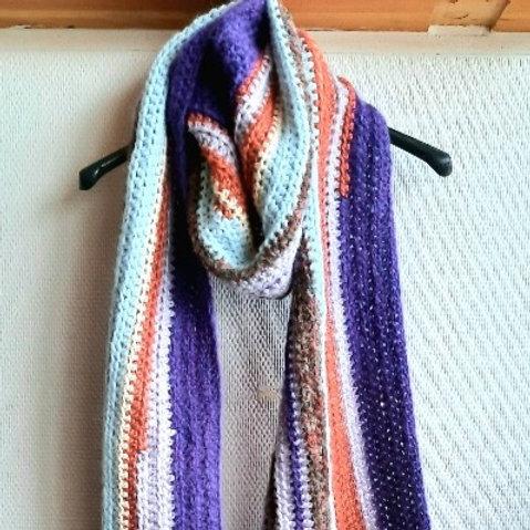 Extra lange sjaal in verschillende kleuren