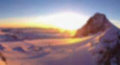 Sonnenaufgang am Dachsteingletscher, Appartementhaus Sonne in Ramsau am Dachstein