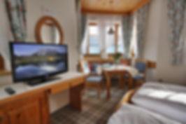 Unser Doppelzimmer im Appartementhaus Sonne in Ramsau am Dachstein, Region Schladming Dachstein