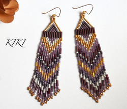 Purple gold long