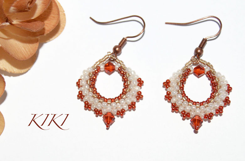 Little bag earrings