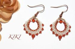 Little bag earrings