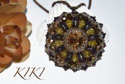 Honey pendant