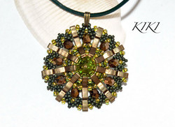 Green Tilima pendant