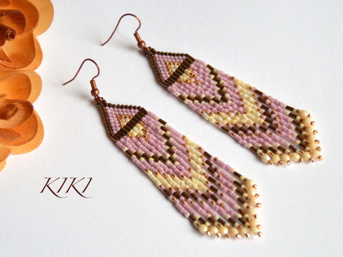 Pink bronze long
